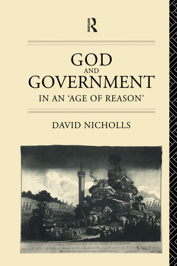 God and Government in an 'Age of Reason' book cover