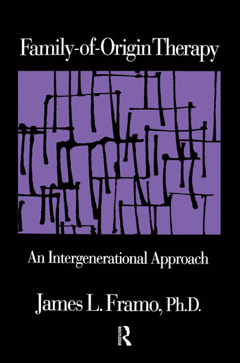 Family-Of-Origin Therapy An Intergenerational Approach book cover