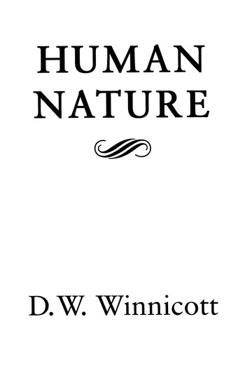 Human Nature book cover