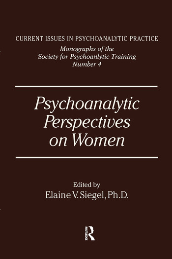 Psychoanalytic Perspectives On Women book cover