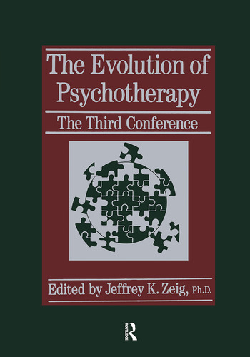 The Evolution Of Psychotherapy The Third Conference book cover