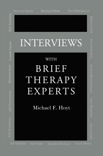 Interviews With Brief Therapy Experts book cover