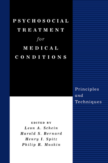 Psychosocial Treatment for Medical Conditions Principles and Techniques book cover