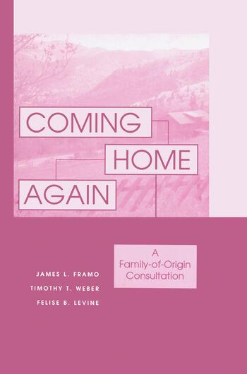 Coming Home Again A Family-Of-Origin Consultation book cover