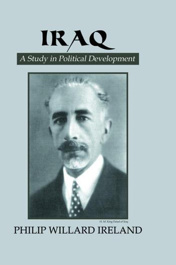 Iraq book cover