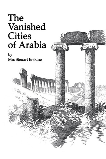 Vanished Cities Of Arabia book cover