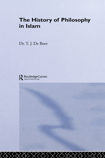 History Of Philosophy In Islam book cover