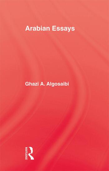 Arabian Essays book cover