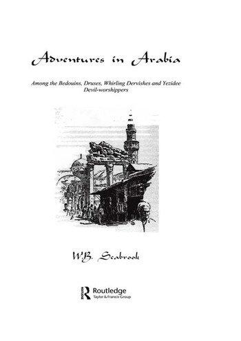 Adventures In Arabia book cover