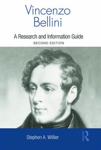 Vincenzo Bellini A Guide to Research book cover