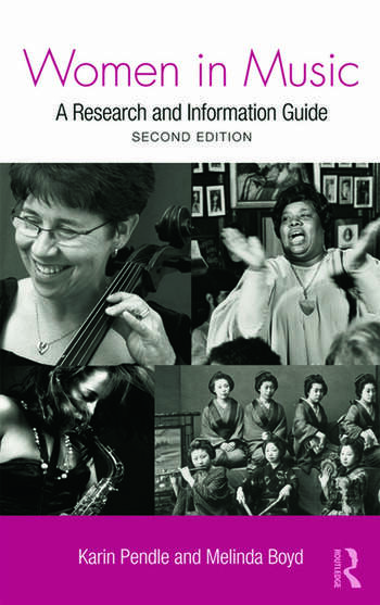 Women in Music A Research and Information Guide book cover