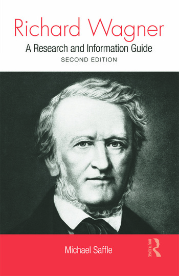 Richard Wagner A Research and Information Guide book cover