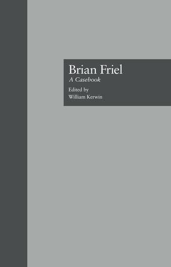 Brian Friel A Casebook book cover