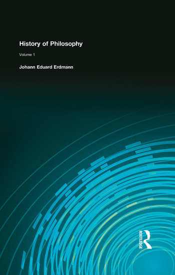 History of Philosophy Volume I book cover