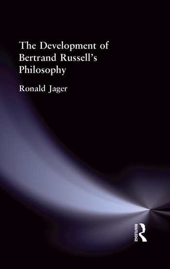 The Development of Bertrand Russell's Philosophy book cover