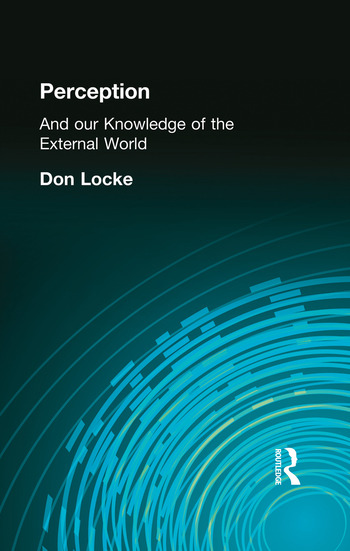 Perception And our Knowledge of the External World book cover