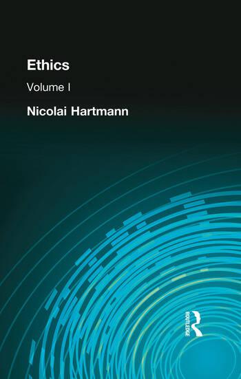 Ethics Volume I book cover
