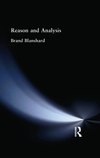 Reason and Analysis book cover