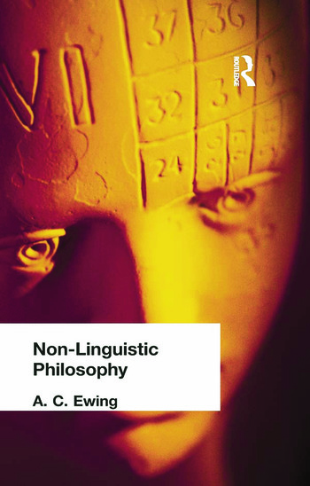 Non-Linguistic Philosophy book cover