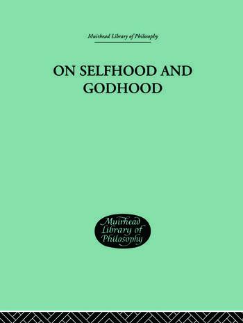 On Selfhood and Godhood book cover