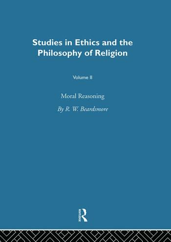 Moral Reasoning Vol 2 book cover