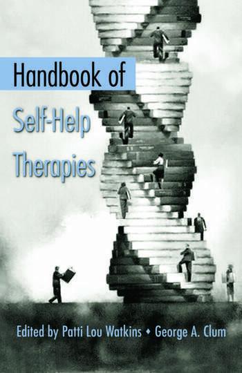 Handbook of Self-Help Therapies book cover