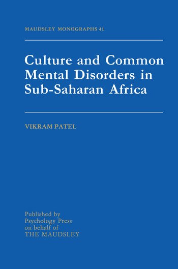 Culture And Common Mental Disorders In Sub-Saharan Africa book cover