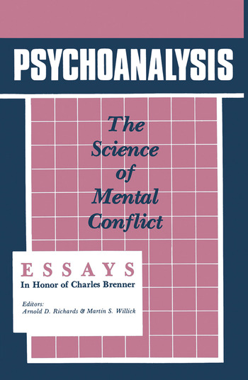 Psychoanalysis The Science of Mental Conflict book cover