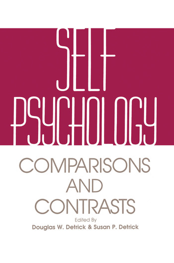 Self Psychology Comparisons and Contrasts book cover