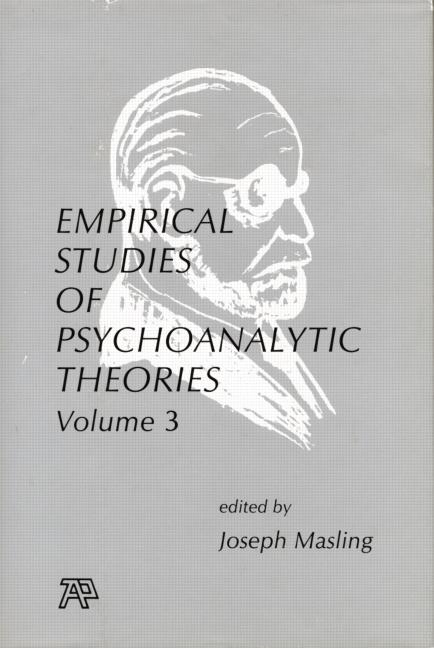 Empirical Studies of Psychoanalytic Theories, V. 3 book cover