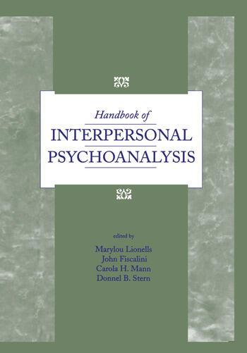 Handbook of Interpersonal Psychoanalysis book cover
