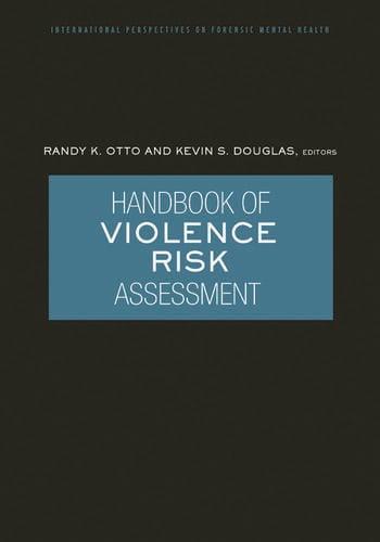 Handbook of Violence Risk Assessment book cover