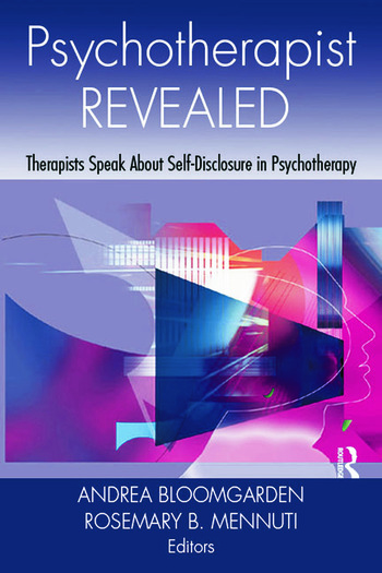 Psychotherapist Revealed Therapists Speak About Self-Disclosure in Psychotherapy book cover