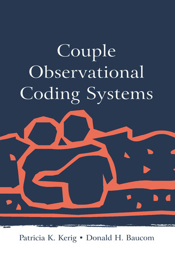 Couple Observational Coding Systems book cover