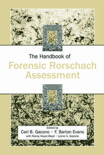 The Handbook of Forensic Rorschach Assessment book cover