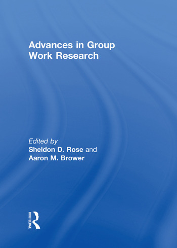 Advances in Group Work Research book cover