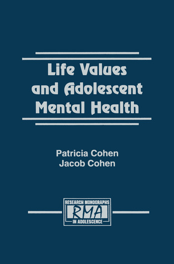 Life Values and Adolescent Mental Health book cover