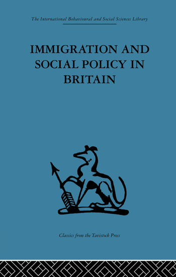Immigration and Social Policy in Britain book cover