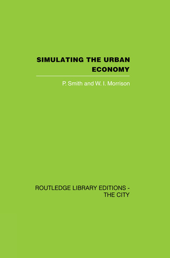Simulating the Urban Economy Experiments with input-output techniques book cover