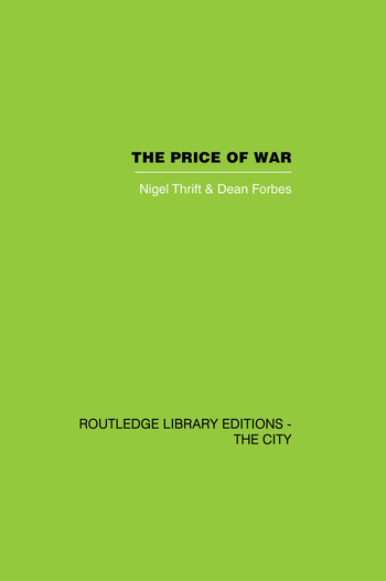 The Price of War Urbanization in Vietnam, 1954-1985 book cover