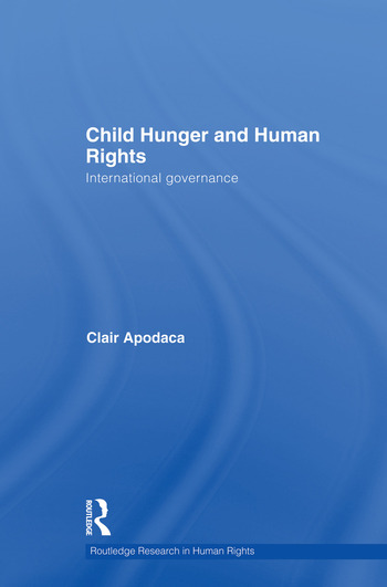 Child Hunger and Human Rights International Governance book cover
