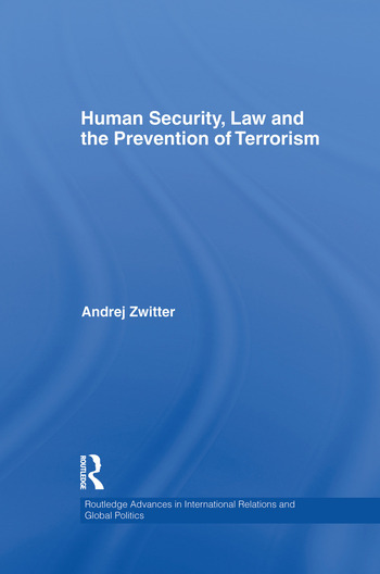 Human Security, Law and the Prevention of Terrorism book cover