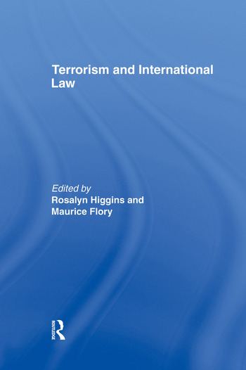 Terrorism and International Law book cover