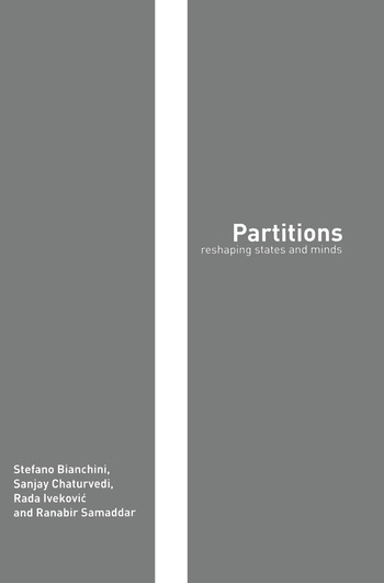 Partitions Reshaping States and Minds book cover