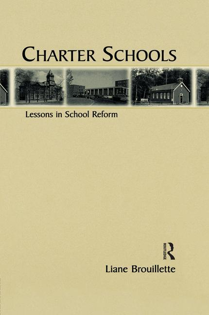 Charter Schools Lessons in School Reform book cover