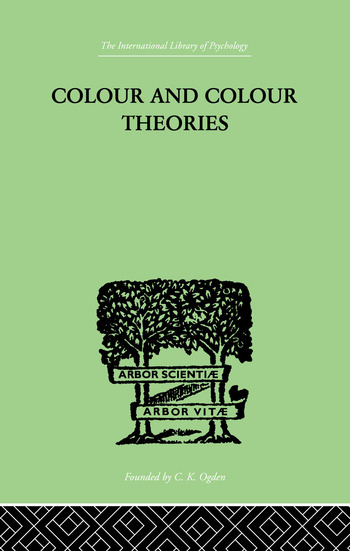 Colour And Colour Theories book cover