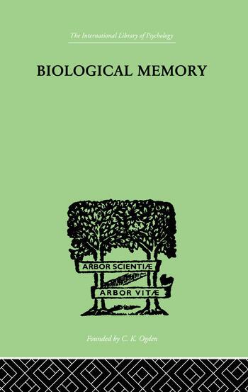 Biological Memory book cover