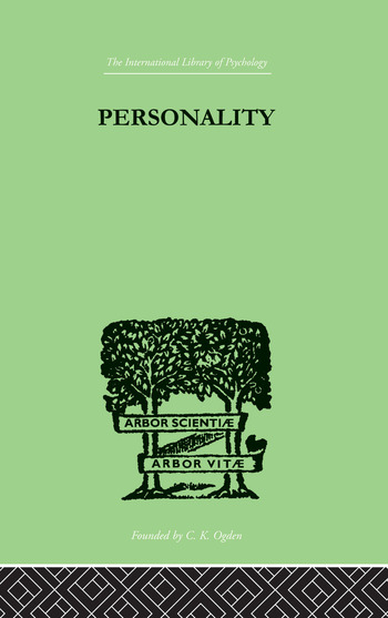 Personality book cover