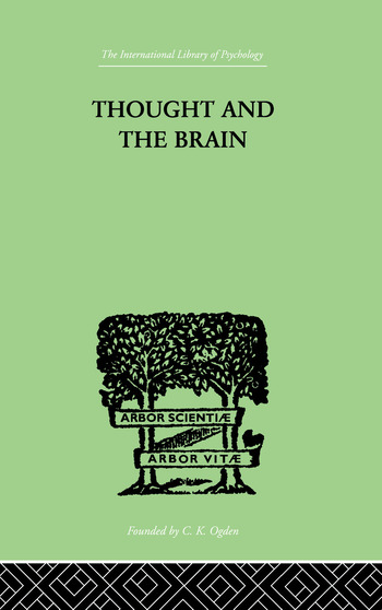 Thought and the Brain book cover