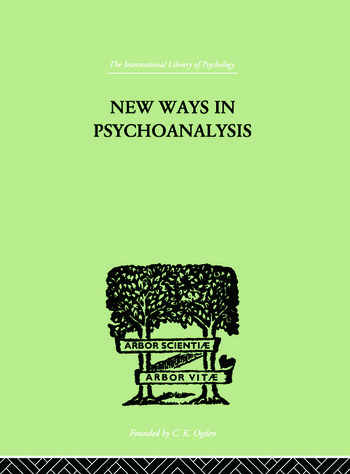 New Ways in Psychoanalysis book cover